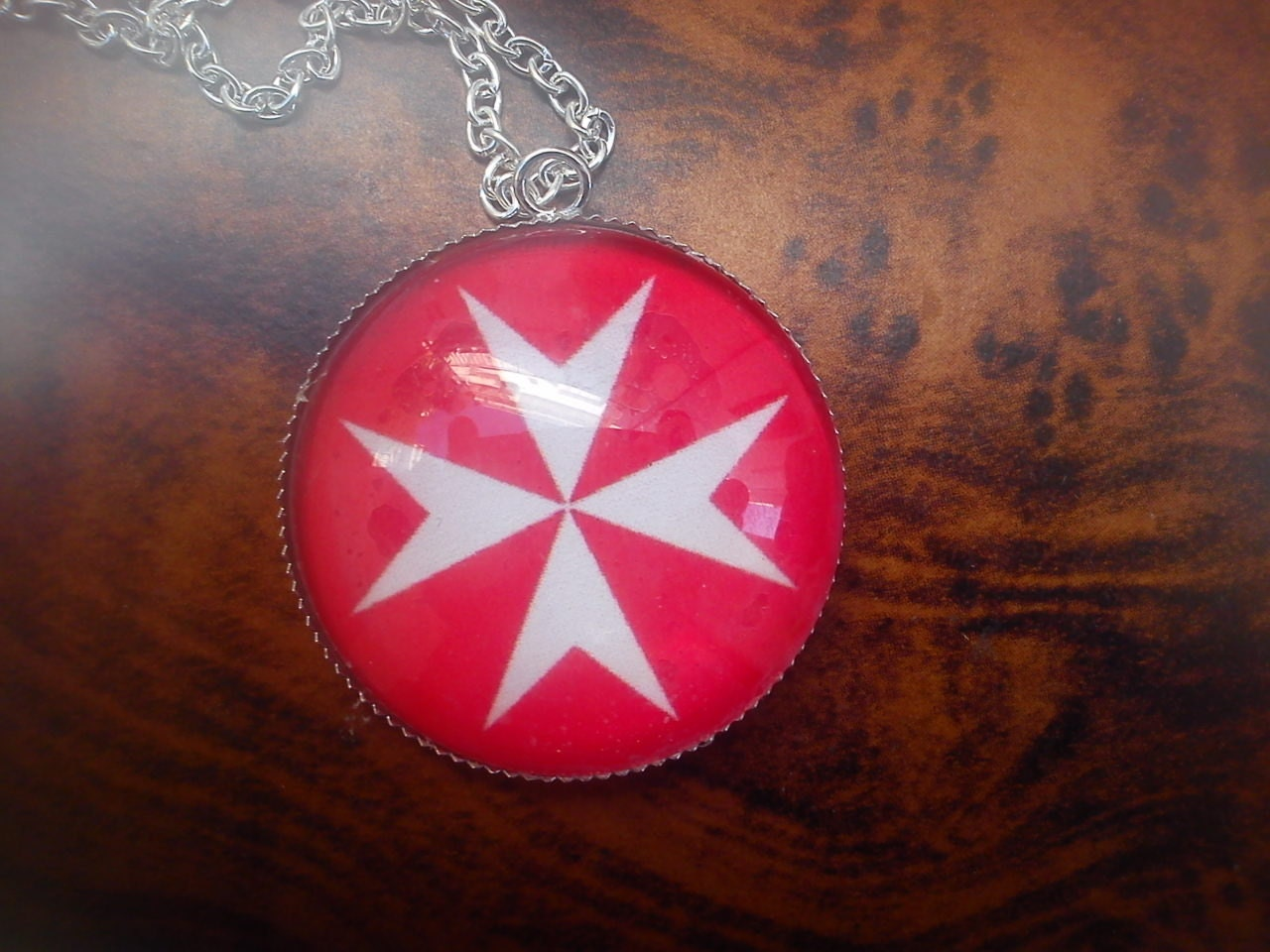 Ancient symbol of the knights templars red equal by truewishes