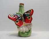 1971 Italian Butterfly Empty Gariner Liqueurs Bottle