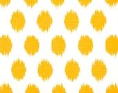 "Modern Decorative Pillow Cover . Yellow Ikat Pillow.Yellow Pillow Cover. .16"",17"",18"",20"" 24"" 26"", Lumbar Pillow or Euro Sham"