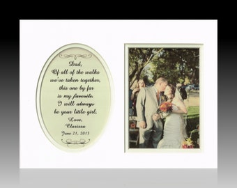 Father of the Bride Of All The Walks Personalized Wedding Gift Dad Daddy Parents Thank You