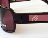 Vintage GianFranco Ferre FF52705 Sunglasses Plum Purple. Made in Italy. Authentic, Never worn