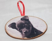 custom order for Carly 20 photo ornaments