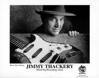 Jimmy Thackery Publicity Photo    8 by 10 Inches
