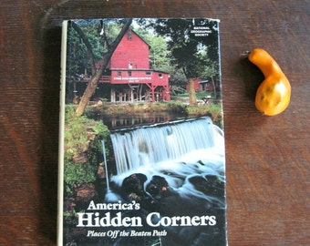National Geographic Book, America's Hidden Corners, Vintage Book, Americana, Photography Book, American Photography, Picture Book