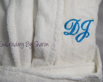 Robes, Monogrammed robes for women an robes for Men. 100% Quality Turkish Cotton