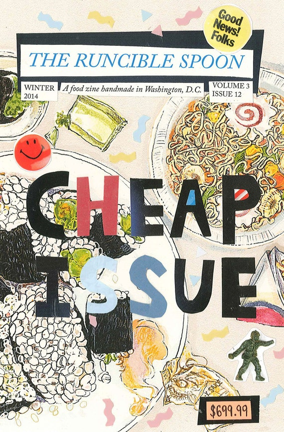 The Runcible Spoon CHEAP ISSUE