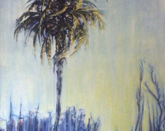 Palm (evening) 18x24