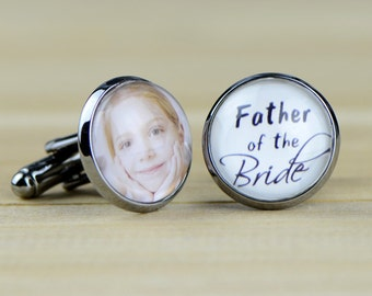 Custom Cuff Links, Personalized father of the bride wedding date cufflinks, Wedding cuff links, Groom cuff links, bestman cuff links-059