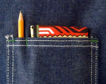 KILLER Vintage Navajo Print Bandanna / Handkerchief / Neckerchief.  Made in USA.