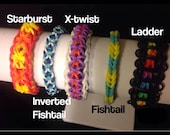 Private listing for Tracey McCullough- Custom Made Rainbow Loom Bracelets - Made Especially for You