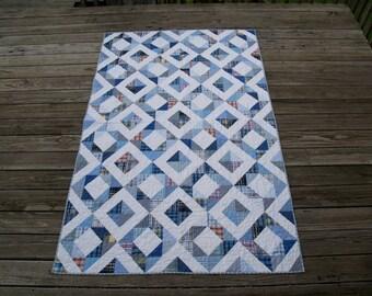 Blue Diamond Quilt