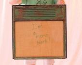 Memo Board from Vintage Window