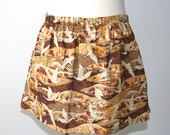 Girls Skirt - Size Large - Birds