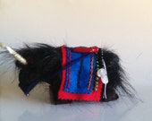 Yak, Silk road Yak,  Christmas ornament, nice decor for your desk or in your office