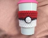 Pokeball Coffee Clutch Cozy