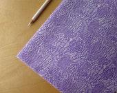 Moda Summersville Spring Scratch Lilac Purple - Lucie Summers - HALF YARD - Modern Quilting Sewing Craft Cotton Fabric