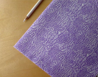 Moda Summersville Spring Scratch Lilac Purple - Lucie Summers - HALF YARD - Modern Quilting Sewing Craft Cotton Fabric