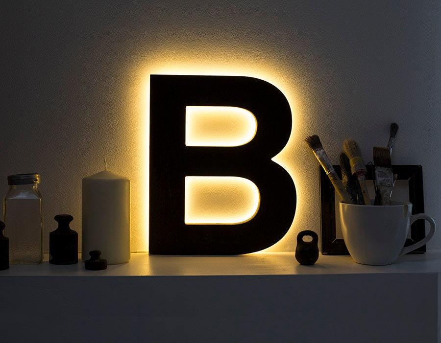 Letter light LED light up letters LED sign night lamp