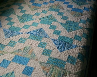 Easy Street Download Quilt pattern. Lap, Twin, Queen all in one pattern