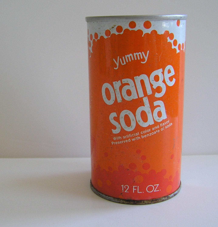Kitchen Art Melrose Park Il: Yummy Orange Soda Fun Home Kitchen Decor Metal By