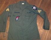 John Lennon Army Shirt.  Men's Small