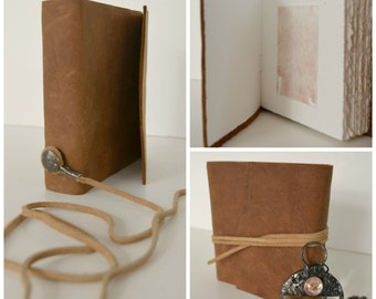 Leather Bound Journal Handmade Travel Journal Adventure Notebook Poetry Personal Diary (305)