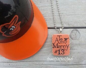 Baltimore Orioles Inspired Necklace Baltimore Baseball Jewelry Manny Machado Chris Davis Crush Davis Orioles T Shirt