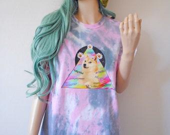 Doge Meme Tie Dye T-Shirt