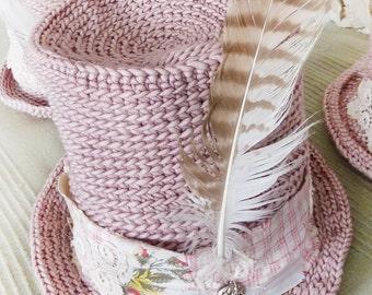 """the *kompott-with-wild-bill"""" hat rosé M / L, 57/58"""
