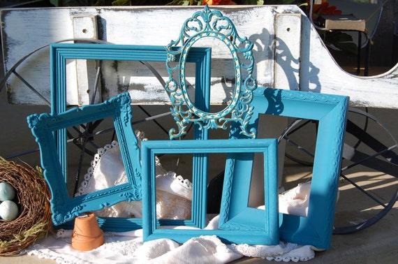 Clearance Shabby Chic Ornate Frames - 5 PICTURE FRAMES - Home Decor Frame Set