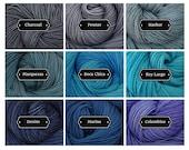 Dyed to Order Aspen Sport - Hand Dyed Superwash Merino Wool Sport Yarn