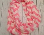 Chevron Infinity Scarfs - lots of colors avllb - Great Gift- Easter Dress- mommy daughter