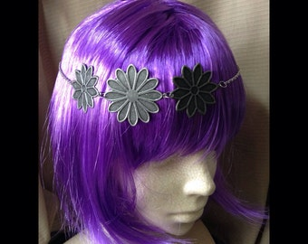 Indie Summer festival Iron daisies headband