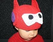 Big Hero 6 Baymax Hat EASY Crochet PDF Pattern - Infant, Toddler, Child, and Adult Sizes. Sale - Buy 2 patterns, Get 1 FREE.