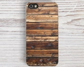 Wood Stripe Print IPHONE 5s CASE, iPhone 6s Case, iPhone 5C Case, Raw iPhone 4 Case, iPhone 6 plus Cases