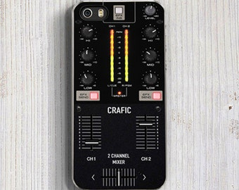 Dj Mixer iPhone 5S Case, Radio iPhone 6 plus Case, Dj iPhone 6 Case, Cool iPhone 5C cases, iPhone 7 case