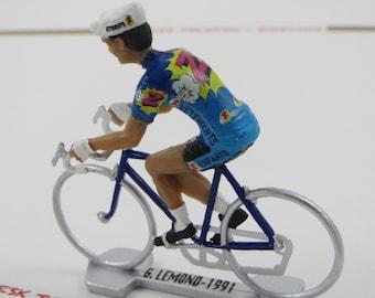 Greg Lemond Tour de France -  Z Team - 1991 - Individually Handcrafted French Peloton Cycling Figure