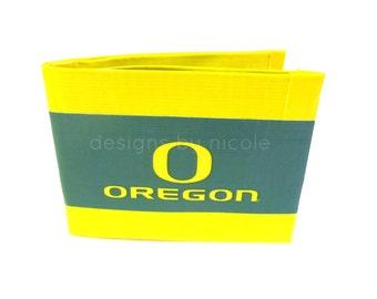 Oregon Ducks Duct Tape Wallet