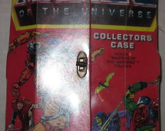 vintage he-man masters of the universe collectors case