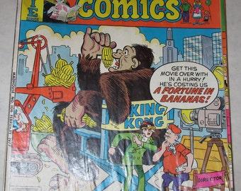 vintage comic  book madhouse comics 106