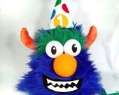 Growlie FurGiggle Puppet Birthday Hat