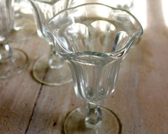 Vintage Soda Shop Glasses