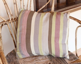 Hand-woven Throw Pillow Cover (small)