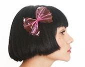 Cute Hair Bows Clear Plastic