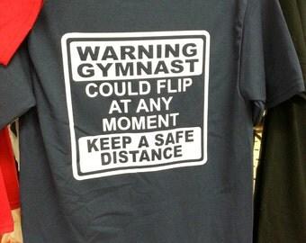Warning Gymnast May Flip