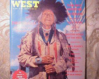 January, February 1963 True West Magazine Flathead Indian Cover Vintage Western Magazine