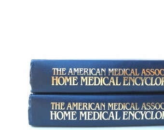 The American Medical Association Home Medical Encyclopedia / Coffee Table Books / Book Decor / Instant Library/ Informative Books
