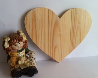 "Wooden Heart ""three wood"" custom"