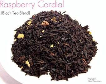 Raspberry Cordial Black Tea Blend
