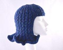 Pattern PDF. Wavy Hat Wig, fun chemo cap, fancy dress or just for FUN!